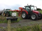 Flushing dairy paddock