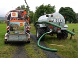 Slurry tanker for water